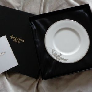 PROUNA BONE CHINA Lily of the Valley SALAD PLATE